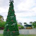 クリスマスツリーにはカンガルーが。オーストラリアらしいね。