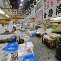 東京。築地市場。