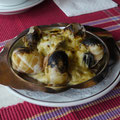 エスカルゴ。生まれて初めて食べたけど、ジューシーでおいしかった。@Penang