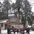 加賀鳶梯子登り