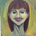 女の顔 未完成