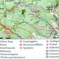 Karte Hafenlohrtal - von Burg Rothenfels durchs Hafenlohrtal
