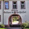 """das legendäre Gasthaus """"Lichtenau"""" im Hochspessart"""