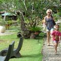 Wir verlassen unser Resort in Bohol