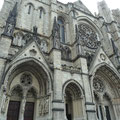 Die riesige Kathedrale Saint John the Divine