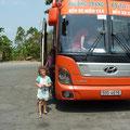 Mit dem Bus in 4 Stunden von Can Tho nach Hanoi
