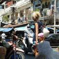 Beim Schlendern durch die Strassen von Saigon