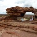"""Nature's Window"" im Kalbarri National Park"