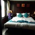 """Unser schönes Zimmer auf der """"Bhaya 4"""""""