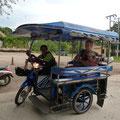 Seitenwagen-Scooter mit 100cc (massiv untermotorisiert!)