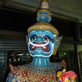 In den Strassen von Bangkok