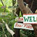 Der Weg durch den Jungle zur Tanote Bay