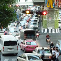 Dauerzustand in Bangkoks Strassen