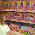 Sienas Ausflug in den Toys R us