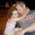Im Ausgang mit Papa