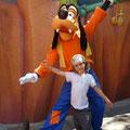 Besuch bei Goofy