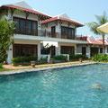 """Unser """"Bamboo Village Resort"""", zwischen Oldtown und Beach, direkt am Fluss"""