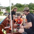 Der Tauchausflug mit dem Familien Longtailboot