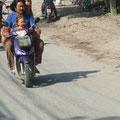 Typisches Verkehrsmittel für 3-4 Köpfige Familien
