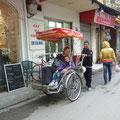 Zurück in Hanoi machen wir noch eine Fahrt mit dem Cyclo