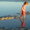 In der Lagune bei Port Smith