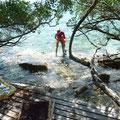 Direkter Zugang zum Korallenriff