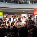 Fashionshow in der SM Mall Dasmarinas