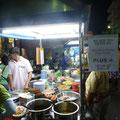 Am Night Market von Hua Hin