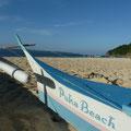 Am herrlich ruhigen Puka Beach