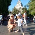 Vor der Fahrt durchs Matterhorn