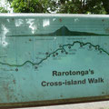 Cross Island Walk in Raro