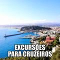 EXCURSÕES PARA CRUZEIROS