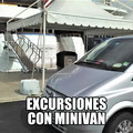 EXCURSIONES CON MINIVAN