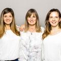 Nadine, Andrea, Lisa