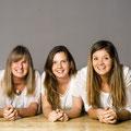 Andrea, Lisa, Nadine