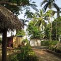 Das Gelände der Sprachschule in Sosua