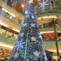 Weihnachtsbaum in einer Mall