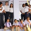 Erster Schultag: Begrüßungsrede von Jacinta Torres