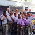 Besuch unserer Familien in der Kleinen Schule Sonnenstrahl