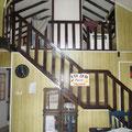 Der Eingangsbereich von unserem Haus
