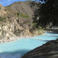 Tolantongo, bei den heißen Quellen