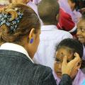 An Aschermittwoch waren wir mit den Kindern in der Kirche