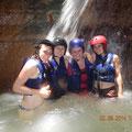 von links: Annika, Theresa, Marie und Franca