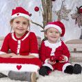 Sesiones de Navidad. Fotografia Andreu Gual. Julia i Biel.