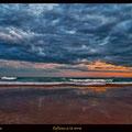 Viene lluvia. Playas de Tarragona. Fotografia Andreu Gual