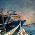 Barcos atuneros. L'Ametlla de Mar. Fotografia Andreu Gual