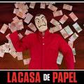 Book Especial LA CASA DE PAPEL. Fotografía Andreu Gual