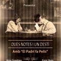 Dues notes i un destí. Book profesional para Enric Roig, Actor Extra y publicidad. Fotografía Andreu Gual