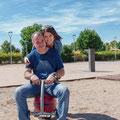 Anna & Miki . Sesión en exteriores. Fotografía Andreu Gual