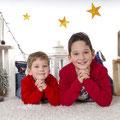 Sesiones de Navidad. Fotografia Andreu Gual. Mario e Iván